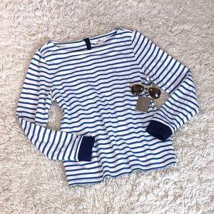 Vineyard Vines Striped Boatneck Sweatshirt